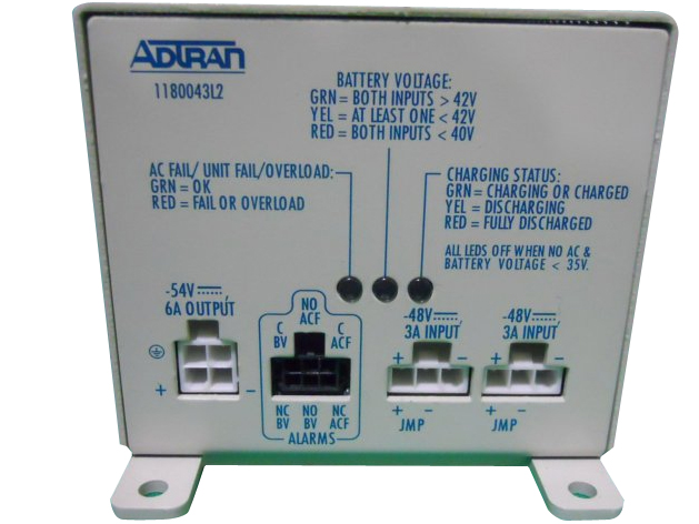 Adtran Total Access Rackmount Power Supply Battery Charger - 1180043L2
