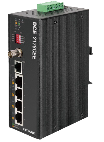 DATA CONNECT 2178CEE Long Reach Ethernet Extender +POE