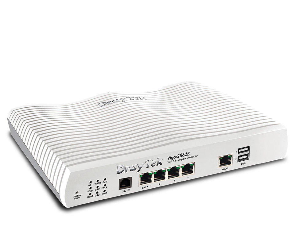 DrayTek Vigor2862B VDSL/ADSL Security Firewall router