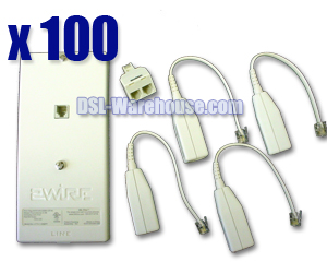 2Wire Home DSL Filter Kit ~ 100-Pack
