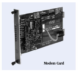 DATA CONNECT MD9.6FPD Myriad Rack Modem Cards 9600 bps Digital Fast Poll Modem