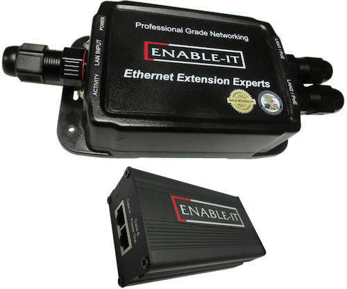 Enable-IT 828WP Outdoor IP68 Rated Waterproof Gigabit PoE Extender