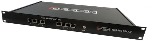 Enable-IT 8955 8 Port Gigabit Extender PoE DSLAM