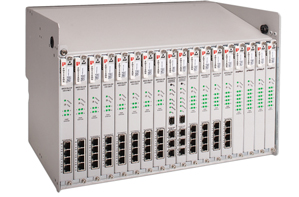Positron AK500S - Multi-Service Carrier Ethernet Shelf, 16 Cards