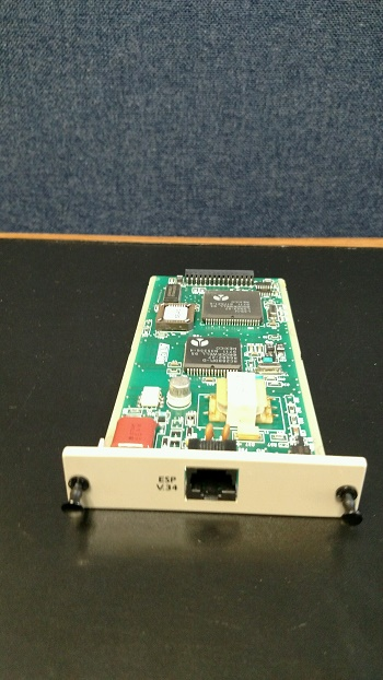 Adtran 1204002L1 V.34 DBU Card for DSU IQ 56/64 DSU/CSU