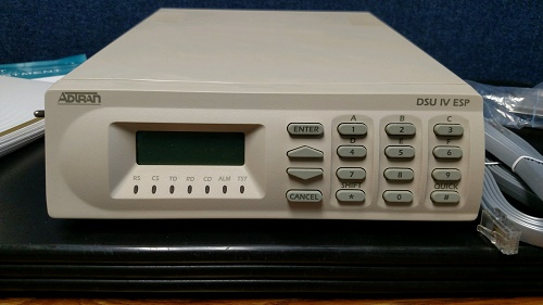 ADTRAN 1204011L1 DSU IV ESP all-rate SNMP 4-W DDS/SW56  1204011L1-R  Like New