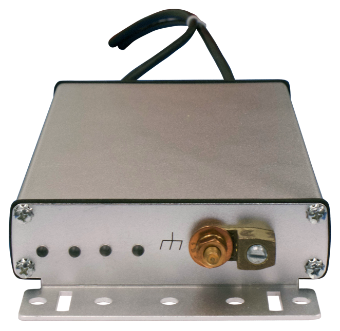 Positron BRX-VDSL2-2 - A 2-pair VDSL2 BRX-VDSL2-M module with primary protection enclosed in IP65 enclosure