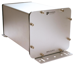 Positron BRX-XLR-8 - IP65 enclosure (BRX-XLR-8-C) includes 4 x BRX-XLR-M modules (total 8 amplified ADSL2+ pairs)