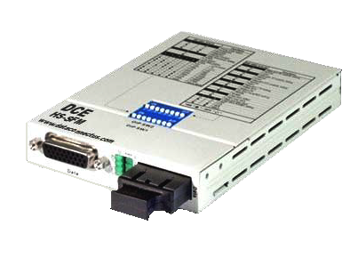 DATA CONNECT SHS-SFM SUPER HIGH SPEED SERIAL FIBER MODEM WITH MULTI-MODE FIBER