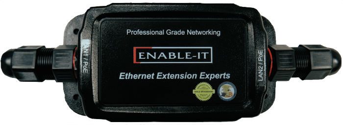 Enable-IT 324 Gigabit PoE Reducer 24V DC Inline Solution