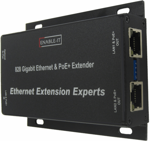 Enable-IT 828 4-pair PoE powered Gigabit Extender Unit