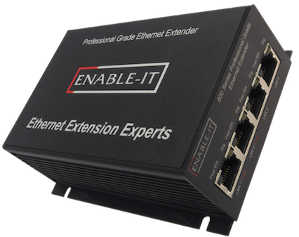 Enable-IT 860 PRO 1-pair Gigabit Ethernet Extender Kit
