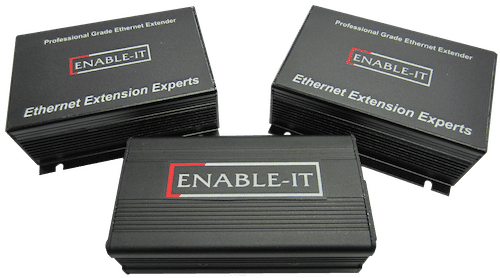 Enable-IT 865 PRO PoE Extender Kit   - Gigabit PoE 2 ~ 4 Port PoE over 4-pair wiring