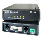 DATA CONNECT IG144-HV V.32BIS 14.4KBPS STANDALONE DIAL MODEM HIGH VOLTAGE 10-48VDC / 100-240VAC / 100-400VDC