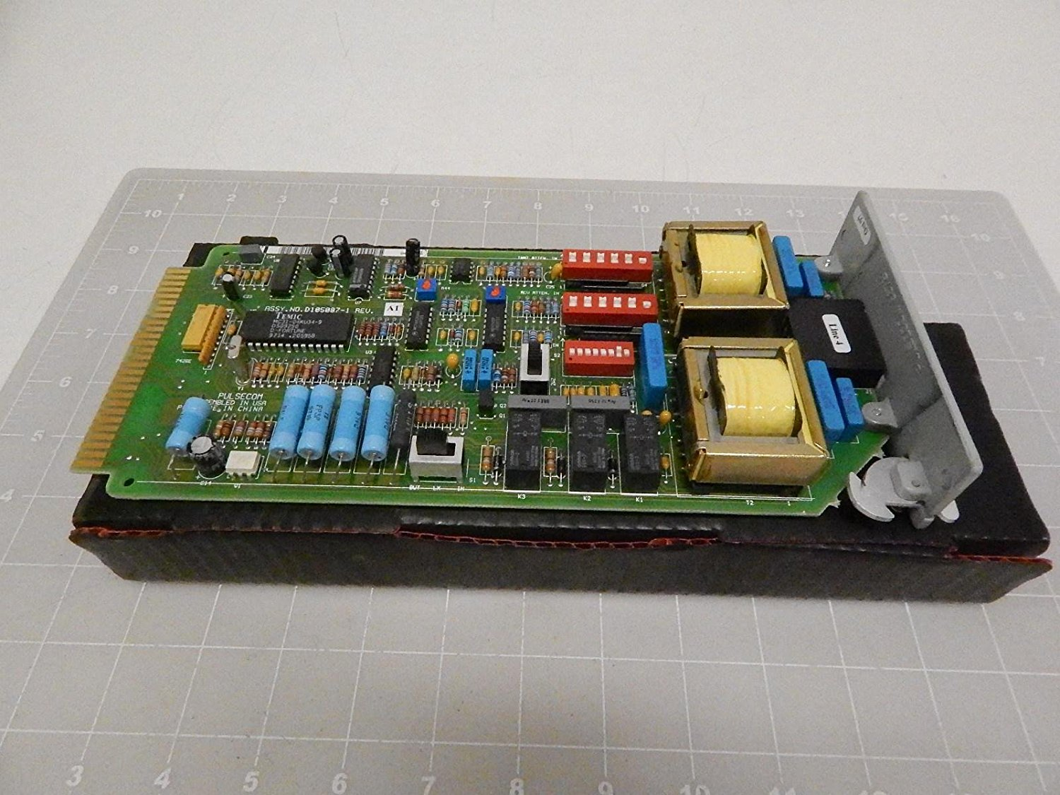 Pulsecom D105087-1, 2FXS-2L1 Circuit Board Module Like New Condition