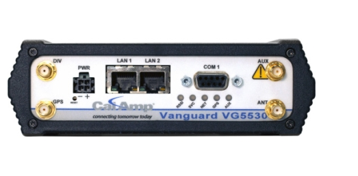 CalAmp Vanguard 5530 4G Cellular Router, Fixed (ATT)