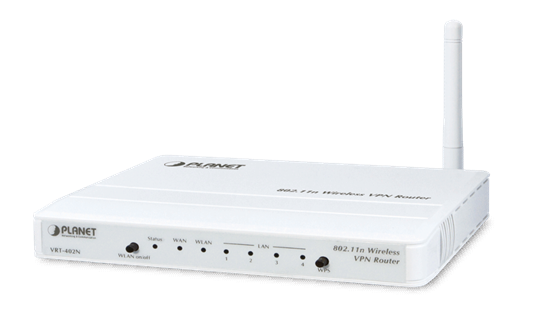Planet Technology VRT-420N  802.11n Dual WAN VPN Router