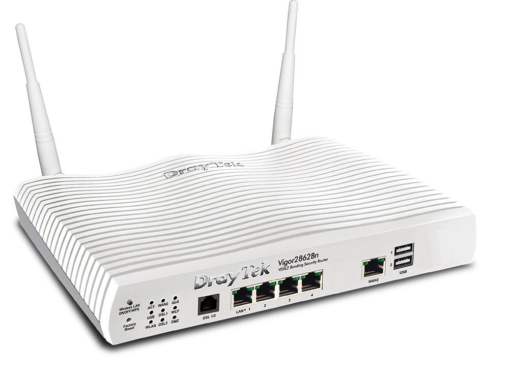 DrayTek Vigor2862Bn VDSL/ADSL Security Firewall router