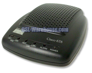 Cisco 678 ADSL Router