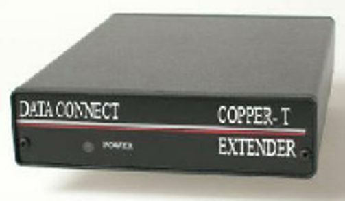 COPPER-T T1/E1 Extender Over Copper Wire Repeater Extension (Single Unit)