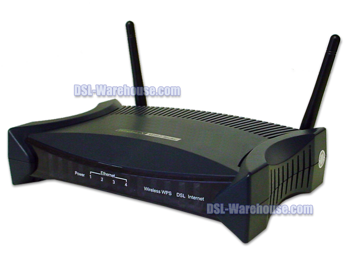 DCE 5204V-NRD Wireless 802.11n VDSL2 4-port Firewall Router