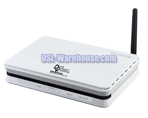 DCE 5204A-GRD 4-Port Wireless ADSL2+ Modem Router Firewall VLAN