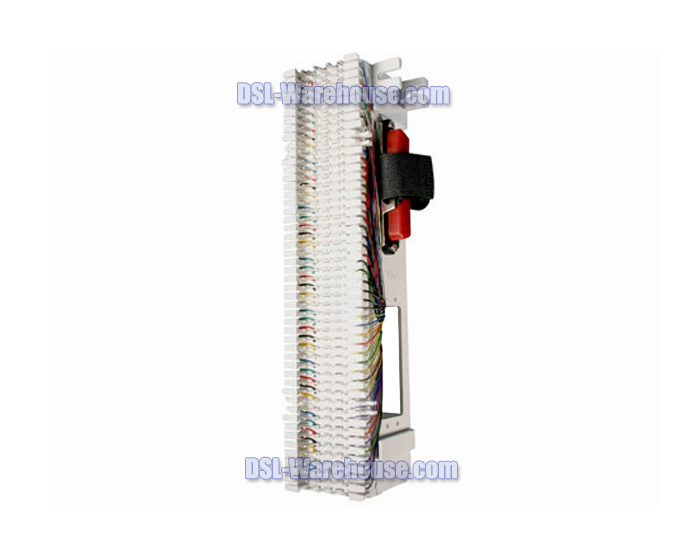 Pre-Wired 66Block With 1 Male RJ-21 Connector  sc 1 st  DSL-Warehouse.com : 66 block wiring diagram - yogabreezes.com