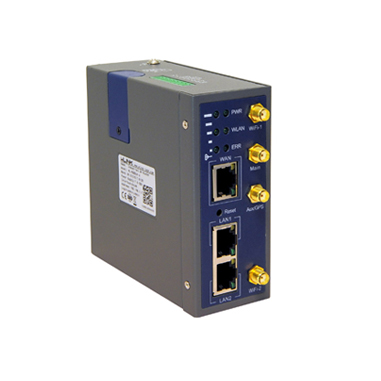 Data Connect Industrial Cell Router, 300 Meters, 802.11AC, 4G Network, 2-GIGE, 1-RS232 & 3-I/O Ports