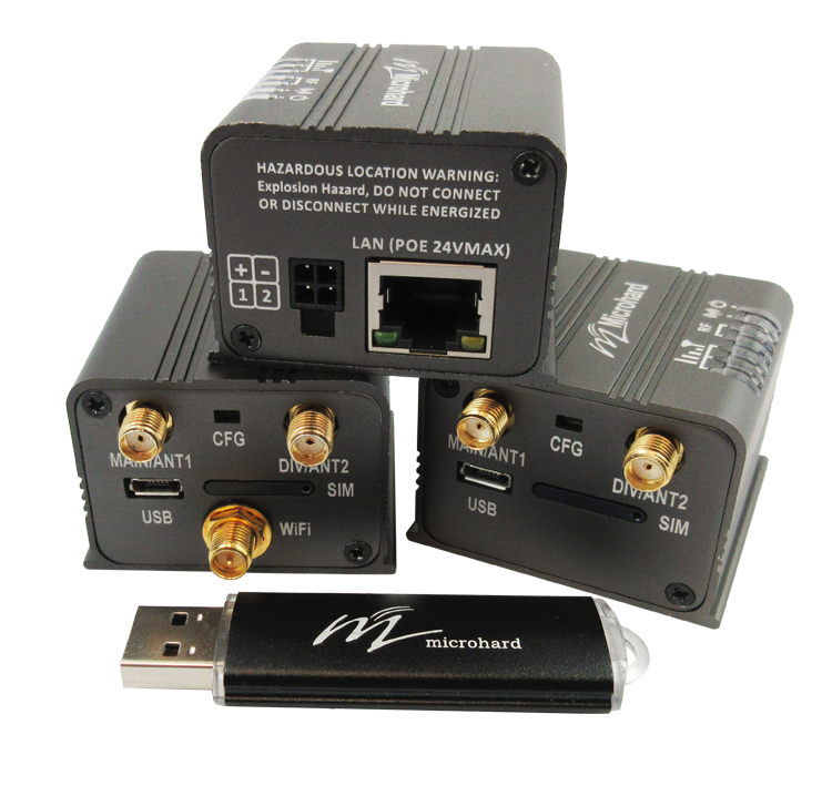 Microhard CUBE CAT1 AT1 W/ WIFI - LTE Category M1/NB-IoT Gateway