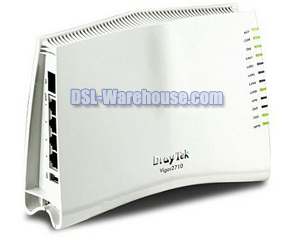 DrayTek Vigor 2710 ADSL2/2+ Modem/Router with Firewall & VPN