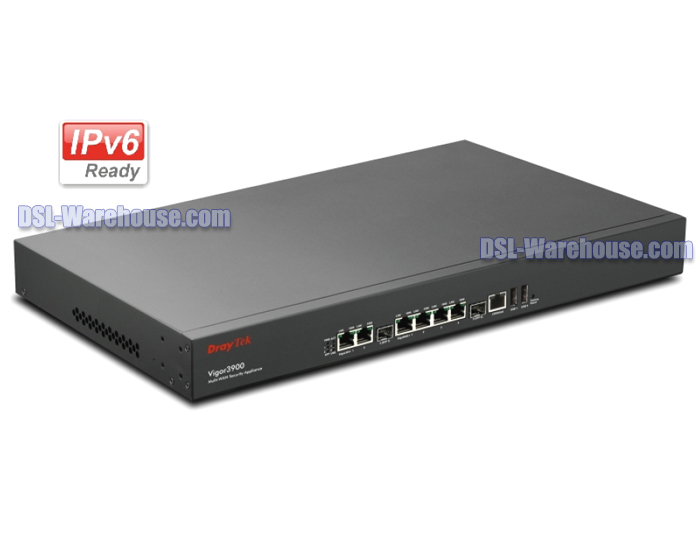 DrayTek Vigor 3900 Central Site Multi Gigabit LAN WAN Firewall VPN Router