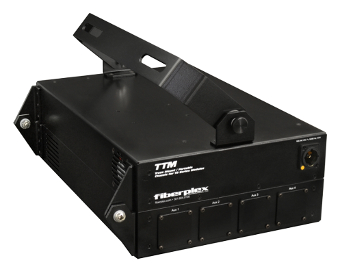 FiberPlex 6 Position Truss Mount Solution for TD Series Modules with 16 Channel Modular Panel TTM