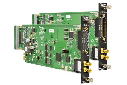 FiberPlex Multi-Standard Serial Interface, 25 Mbps FOM-1090 | FOM-1091