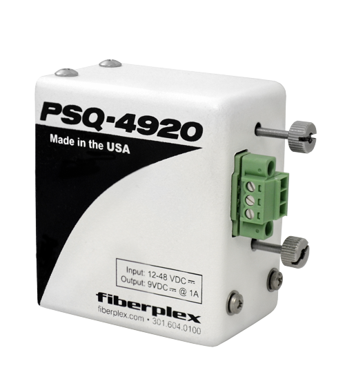 FiberPlex DC Input Standalone Power for FOI Series PSQ-2920 | PSQ-3920 | PSQ-4920