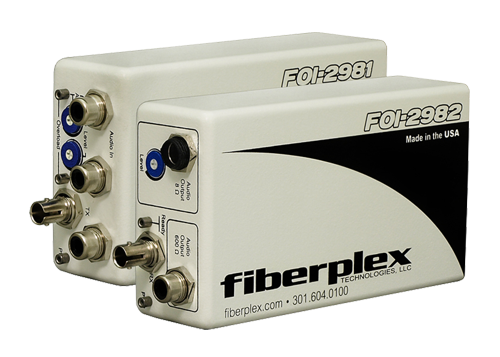 FiberPlex Audio Line Level 2Ch Plus Doorbell In FOI-2981 | FOI-4982 | FOI-2983