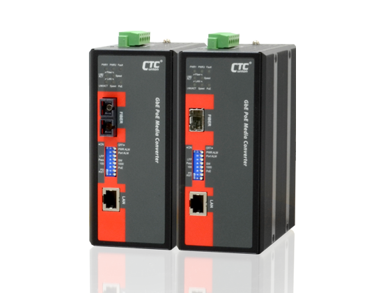 DCE IMC-A10000-APH12 Industrial PoE Switch & Converter