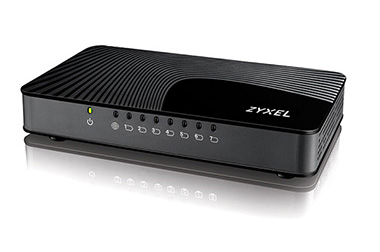 ZyXEL GS108I 8Port Desktop Gigabit Ethernet Media Switch