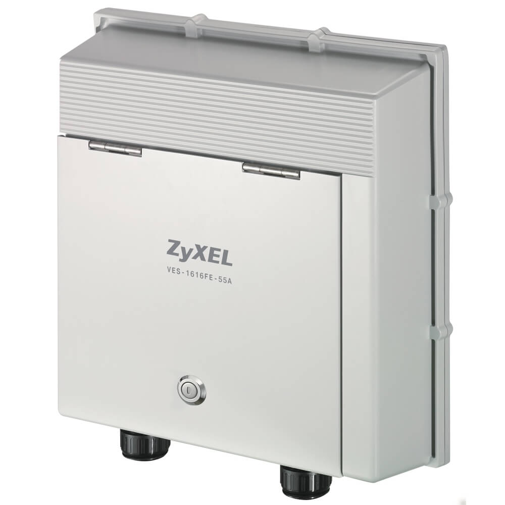 ZyXEL VES-1616FE-55A 16-port Environmentally-Hardened VDSL2 Remote IP DSLAM