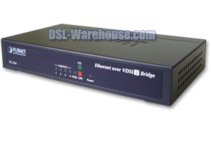 Planet Technology VC-234 4-Port Ethernet over VDSL2 Bridge