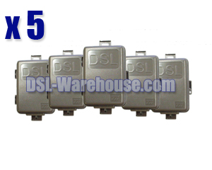 Indoor / Outdoor DSL NID Splitter  5-Pack