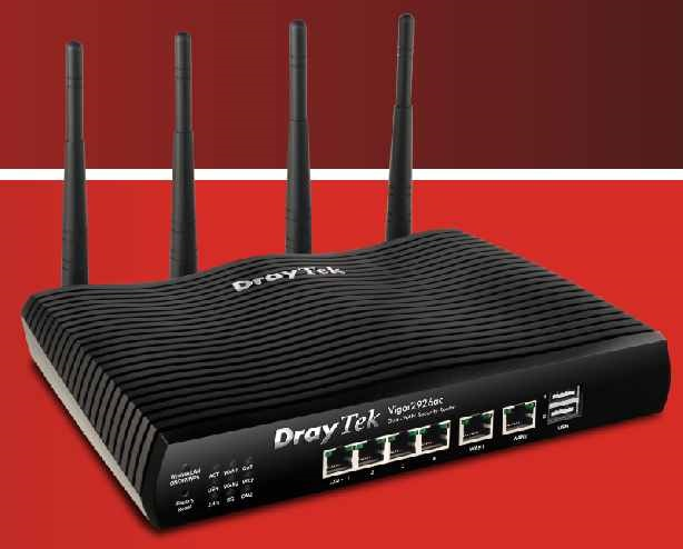 DRAYTEK VIGOR 2926AC DUAL WAN SECURITY ROUTER
